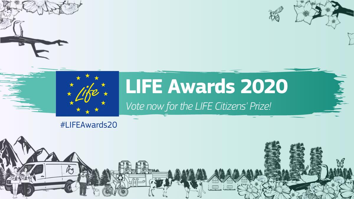LIFE-Auszeichnungen 2020 – Abstimmung über den LIFE-Bürgerpreis 2020 beginnt
