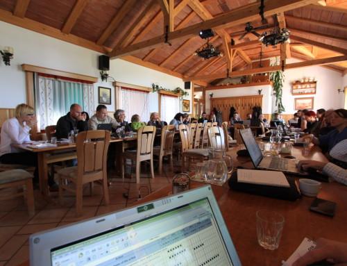Seconda riunione del gruppo direttivo