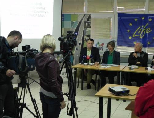 Novinarska konferencija u Bosiljevu