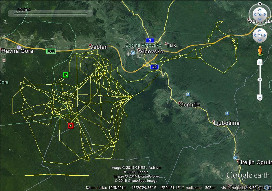 Slavko map