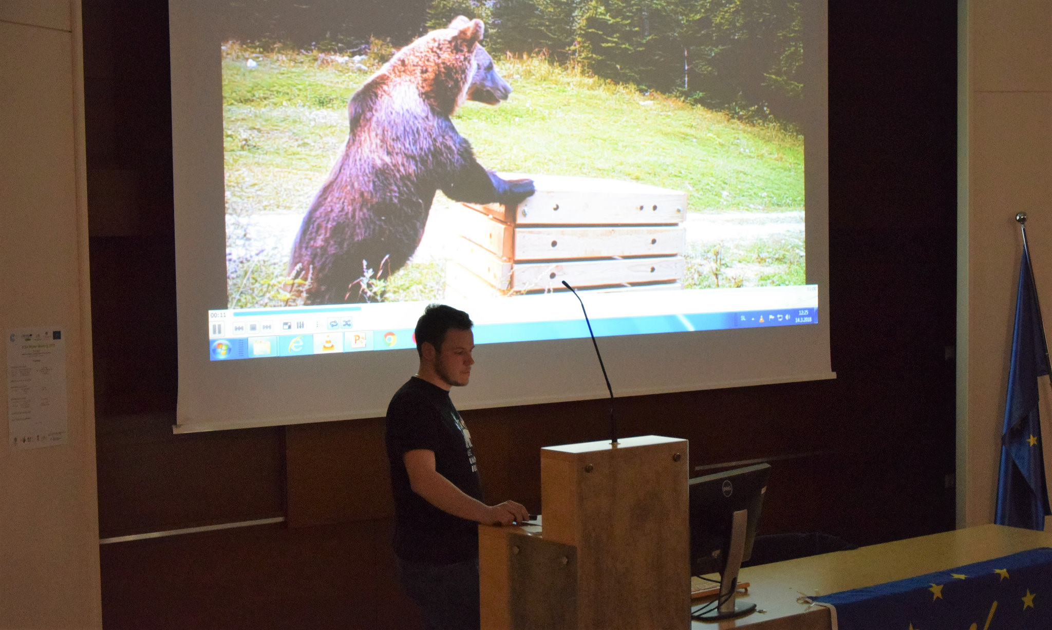International Forestry Students' Association learns about co-existence with bears