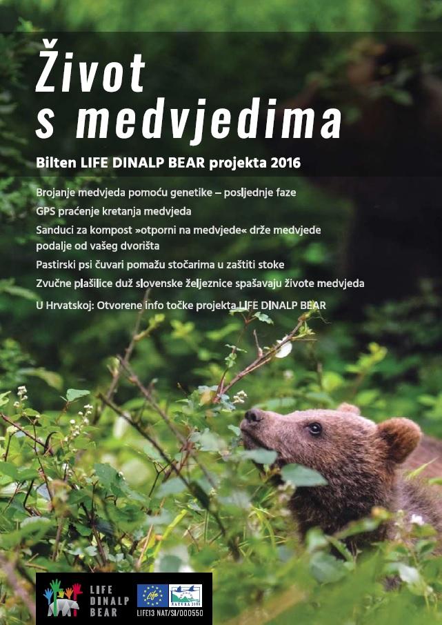 Pročitajte drugi broj biltena objavljenog u sklopu projekta LIFE DINALP BEAR