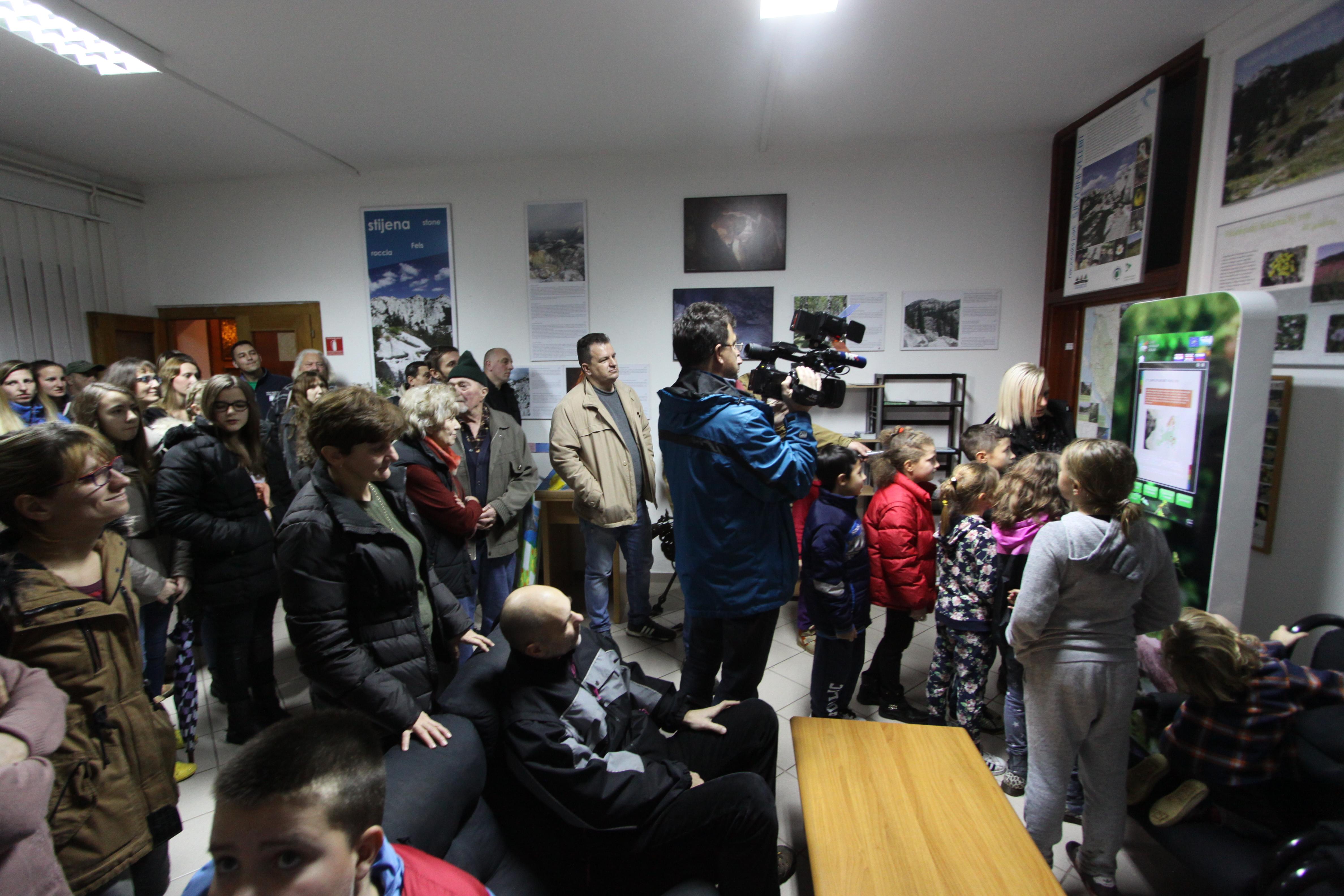 National parks Plitvička jezera and Sjeverni Velebit: Opening of project info points