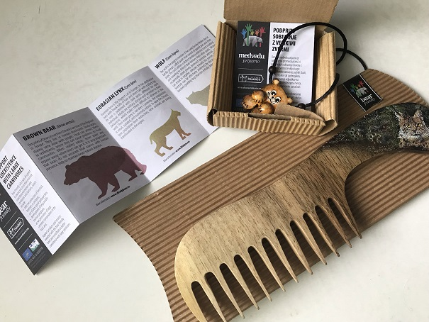New leaflets promoting Bear friendly products