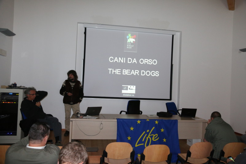 Bear intervention teams gather in Trentino