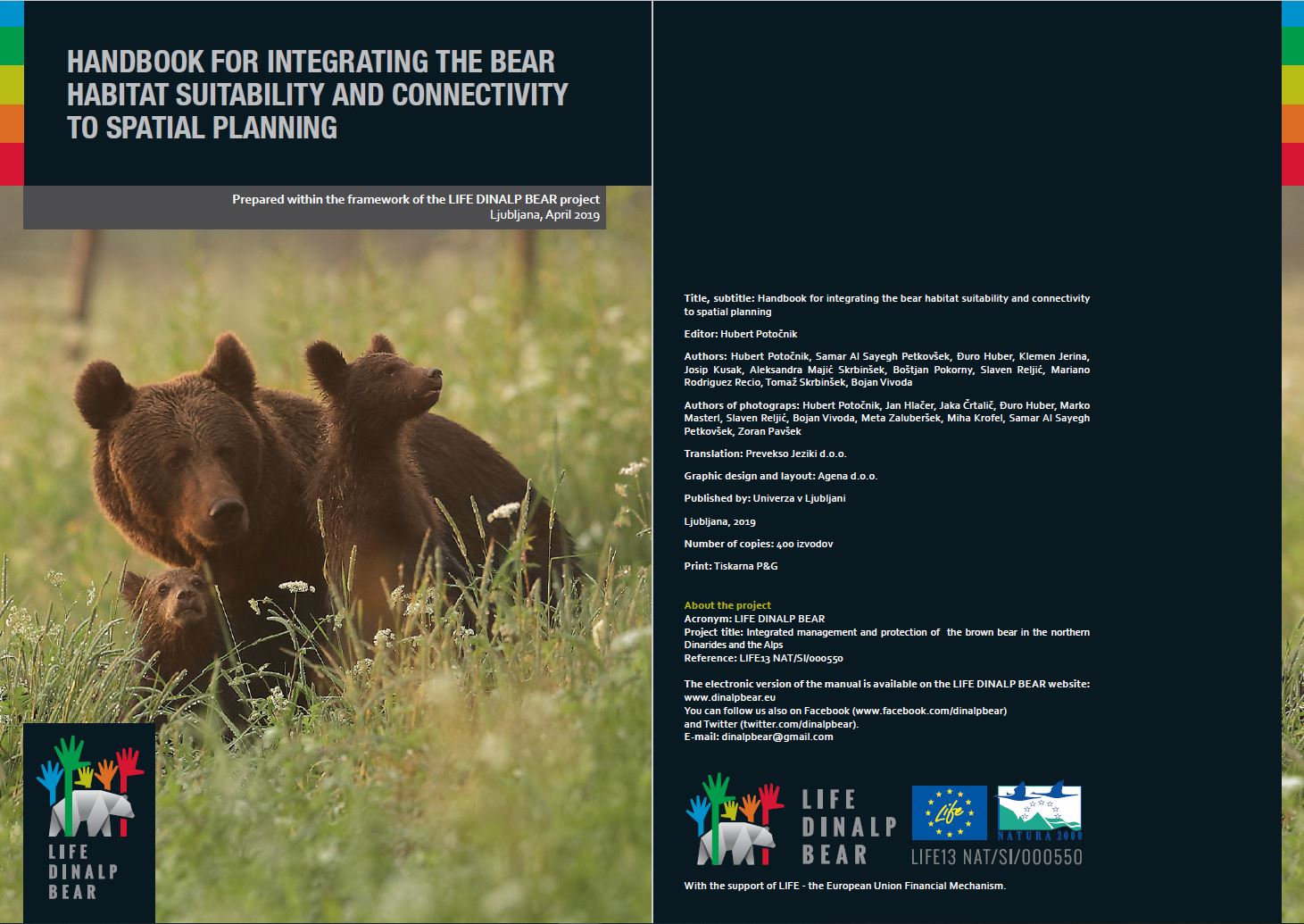 Integration of brown bear presence into spatial planning