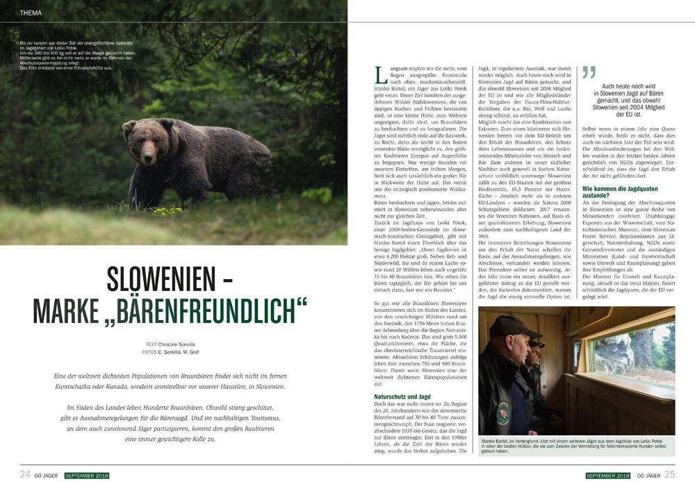 Jäger und Bären