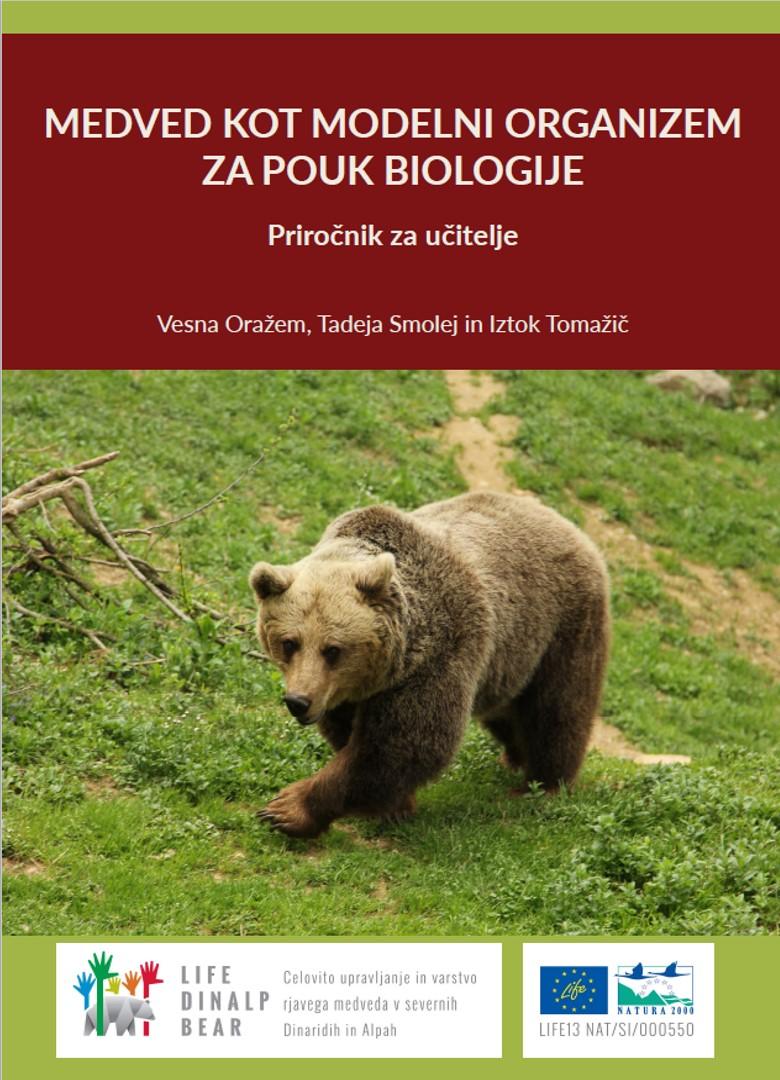 Nov priročnik o medvedu za učitelje na osnovnih in srednjih šolah