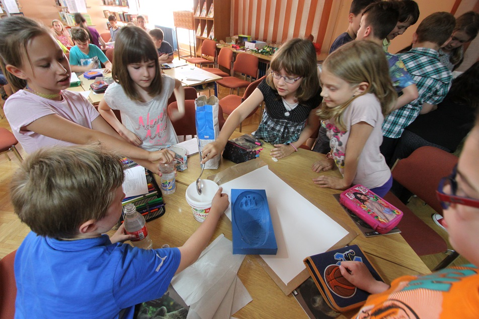 Two workshops for elementary school pupils raised great interest