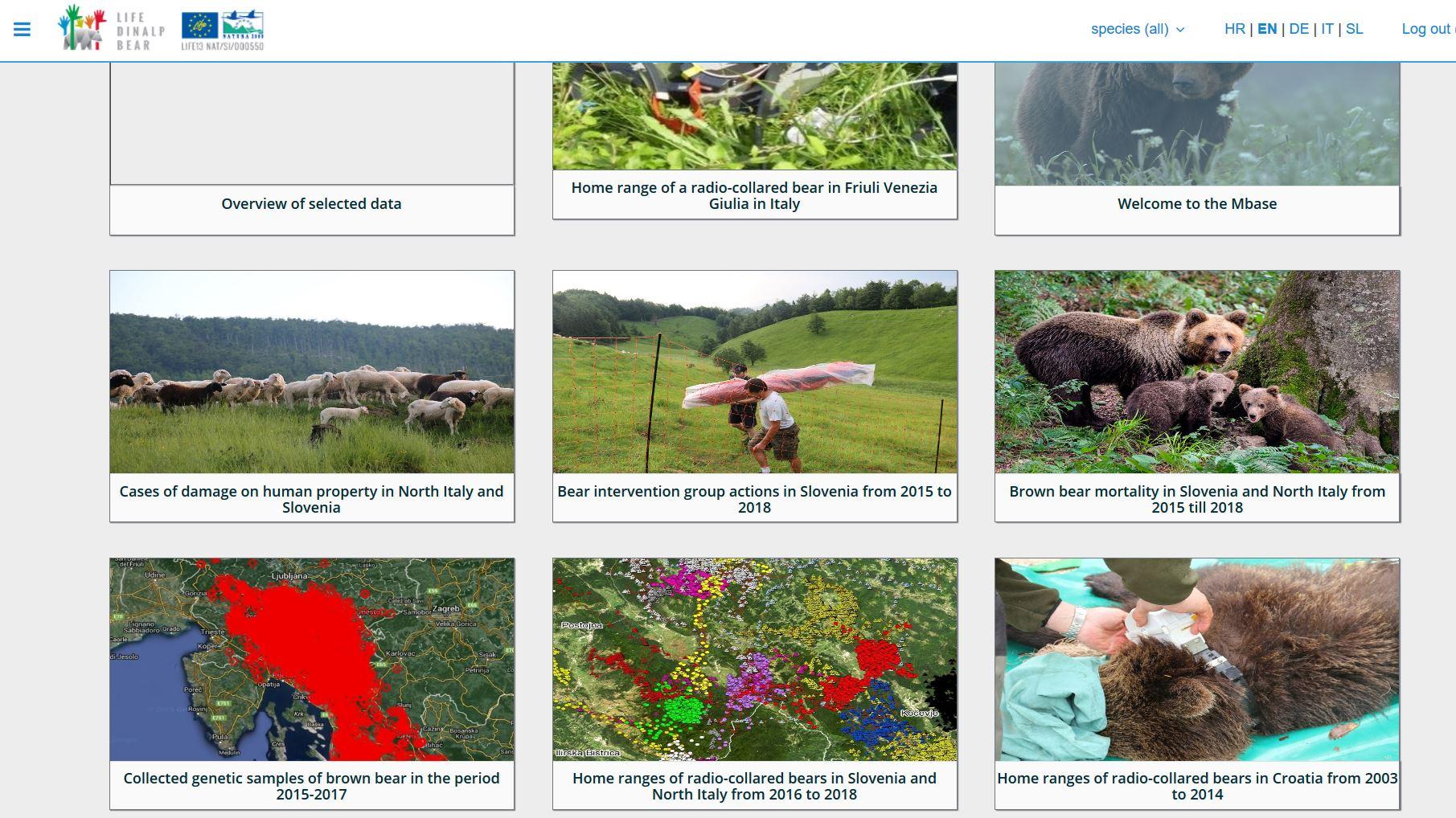Il nostro web geodatabase ha un nuovo look